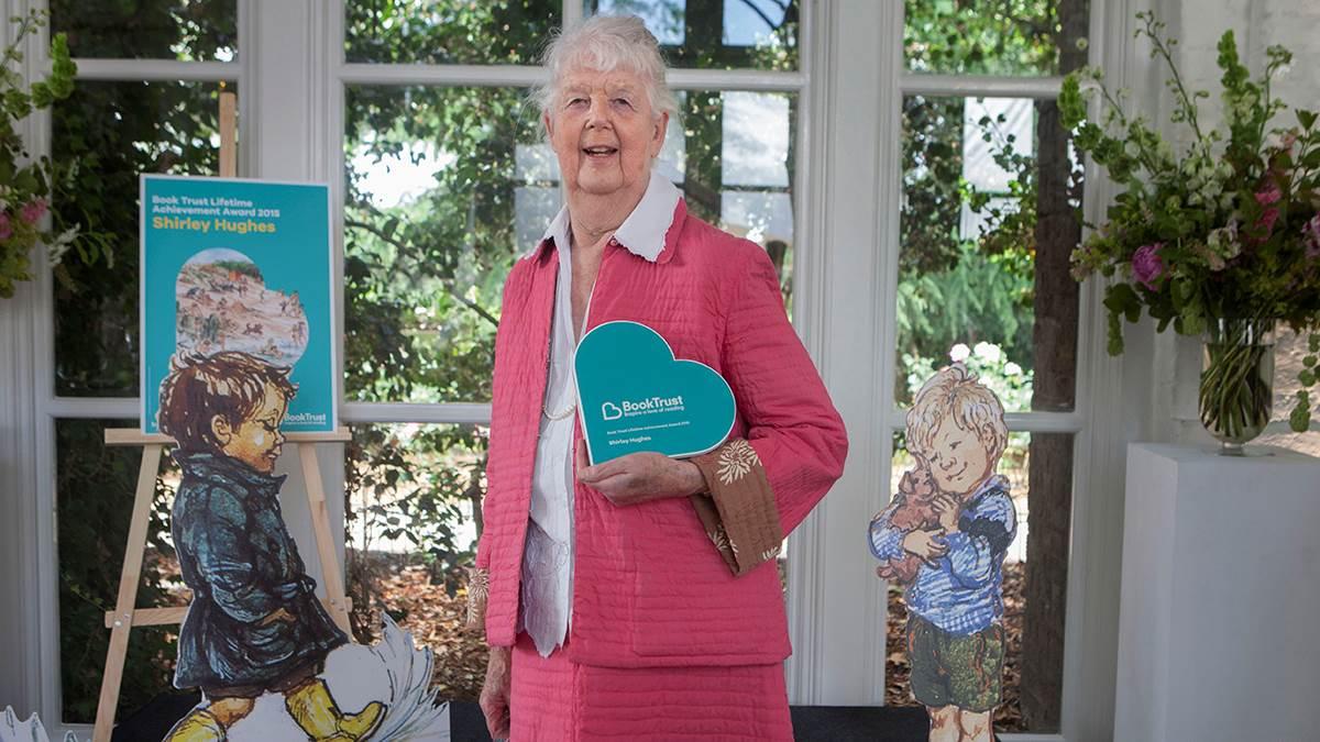 Shirley Hughes wins BookTrust's Lifetime Achievement Award