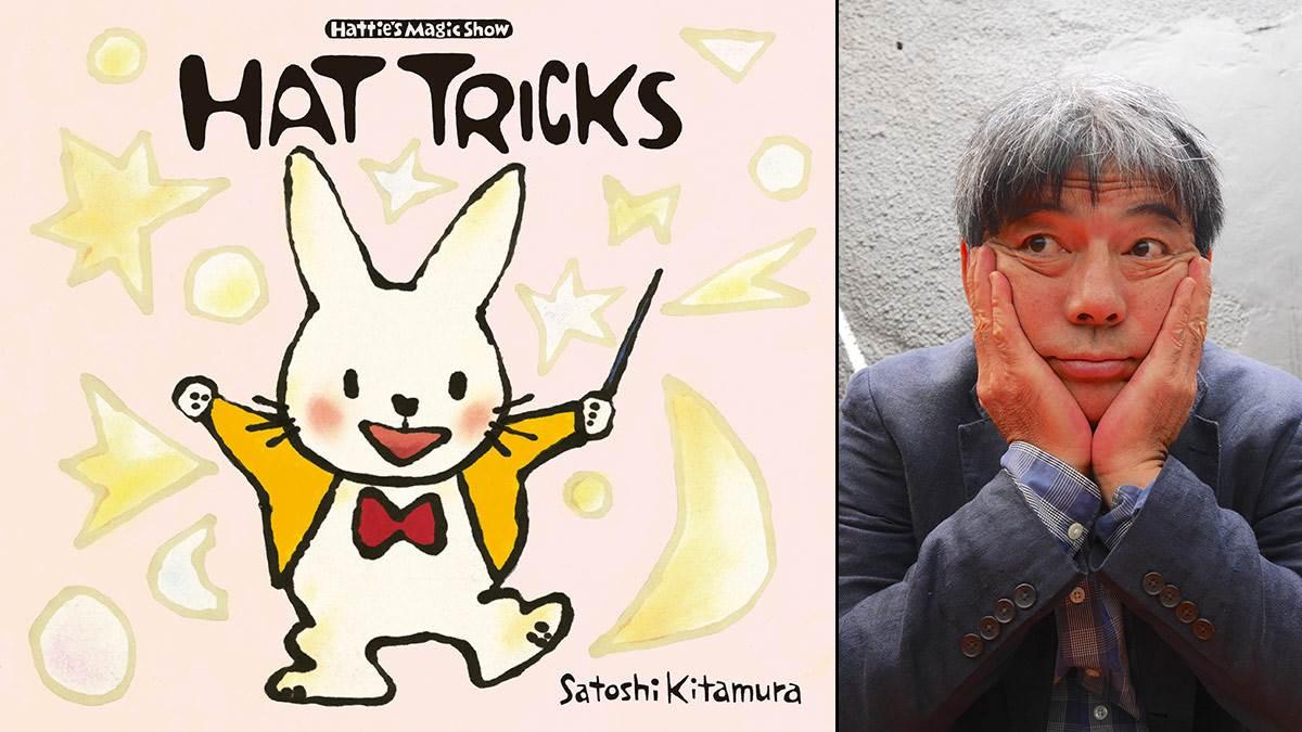 The cover of Hat Tricks and author Satoshi Kitamura