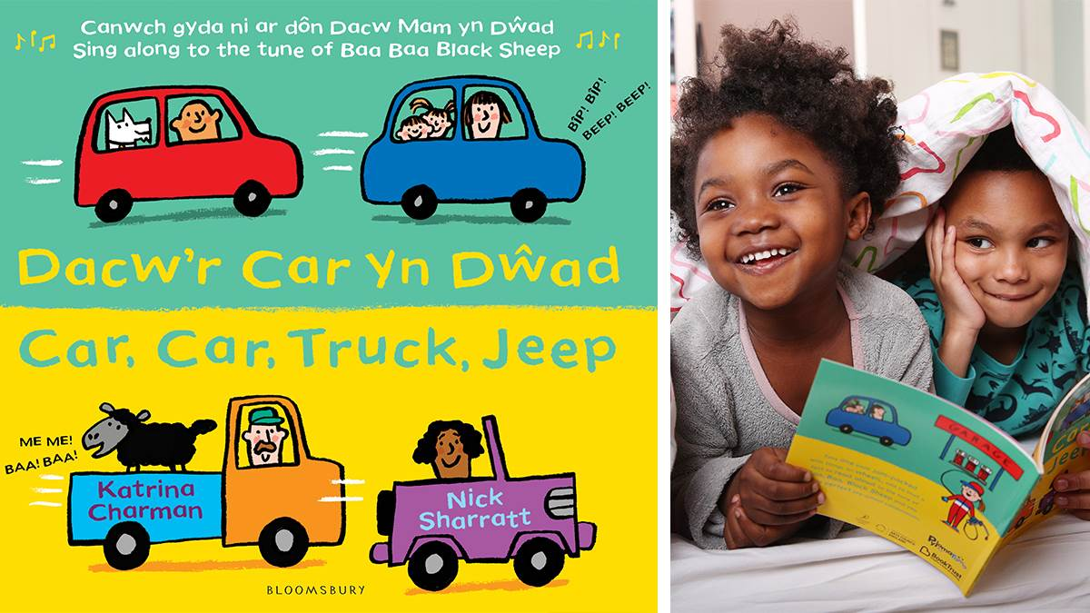 Car Car Truck Sheep Welsh cover and kids