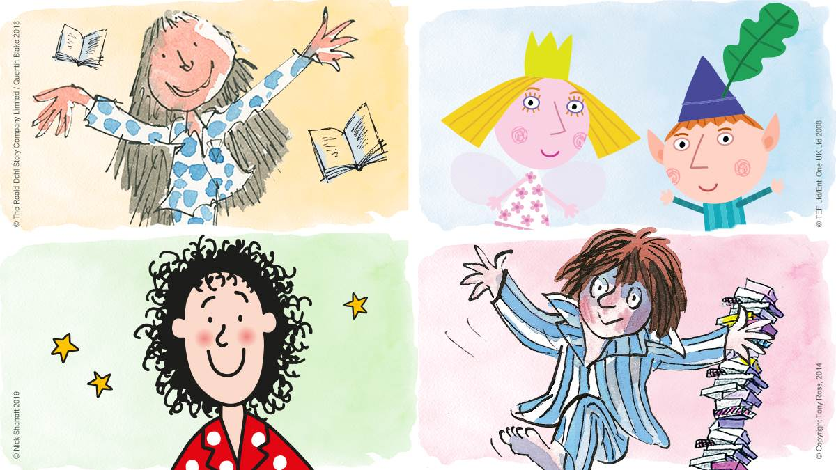 Pyjamarama characters illustration
