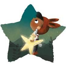 Girl and star