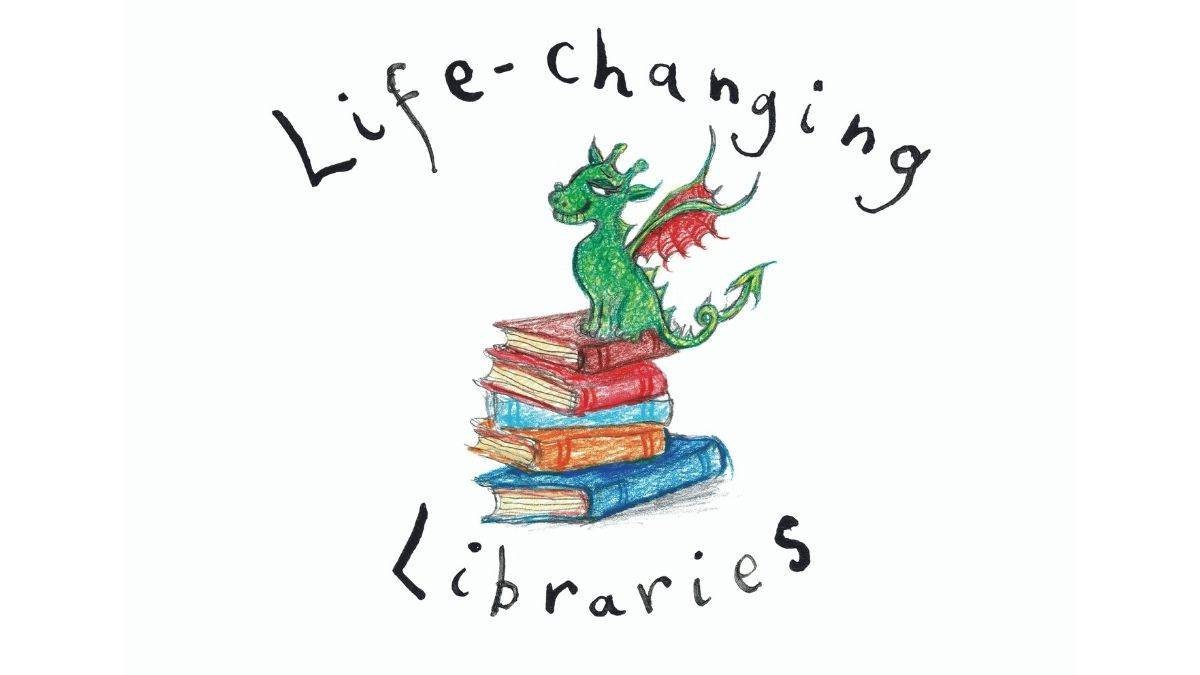 The Life-changing Libraries logo