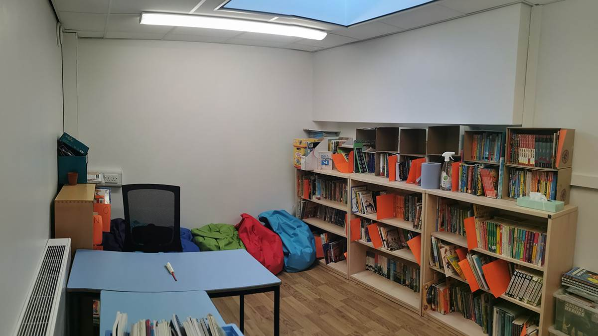 Saviour's current library space