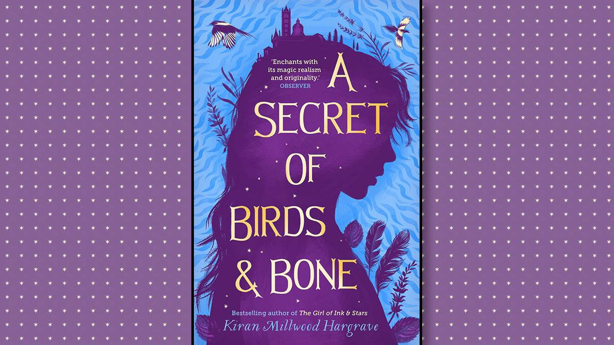 The front cover of A Secret of Birds & Bone