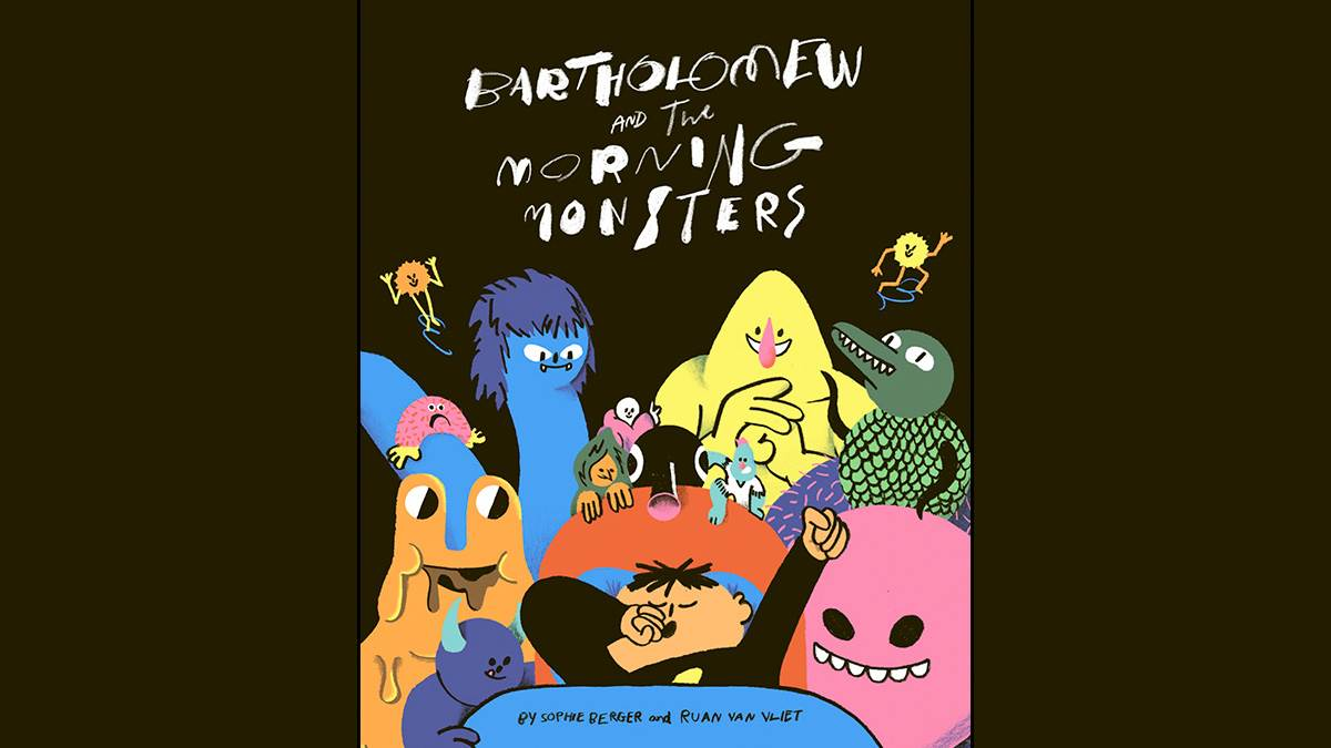 The front cover of Bartholomew and the Morning Monsters