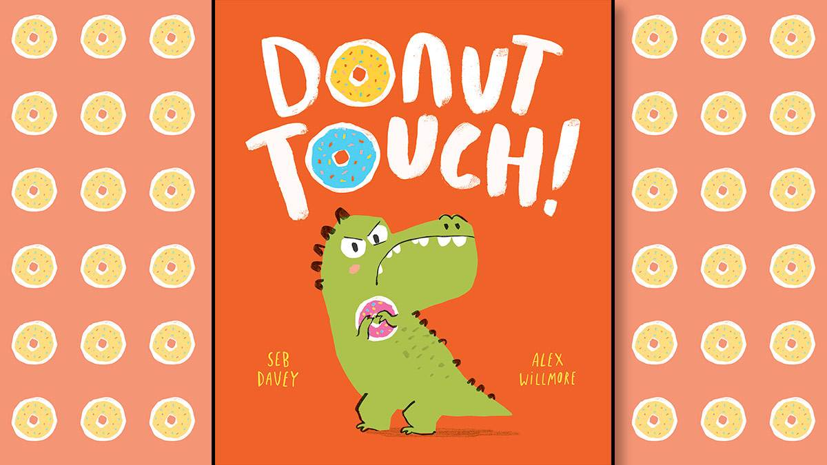 The front cover of Donut Touch