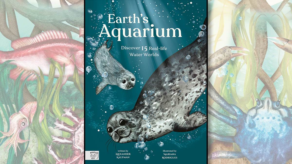 The front cover of Earth's Aquarium