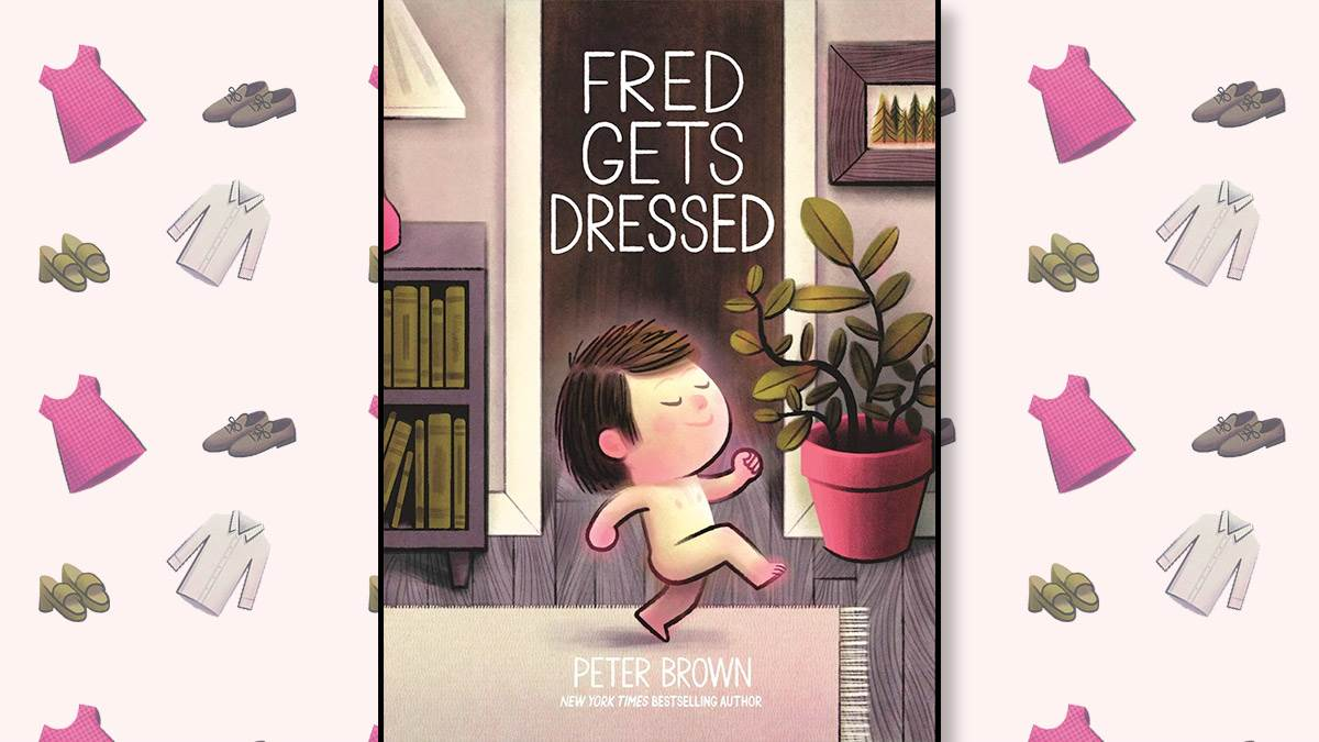 The front cover of Fred Gets Dressed