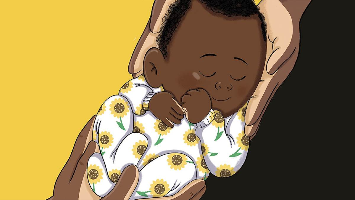 Illustration from Hey You! by Dapo Adeola