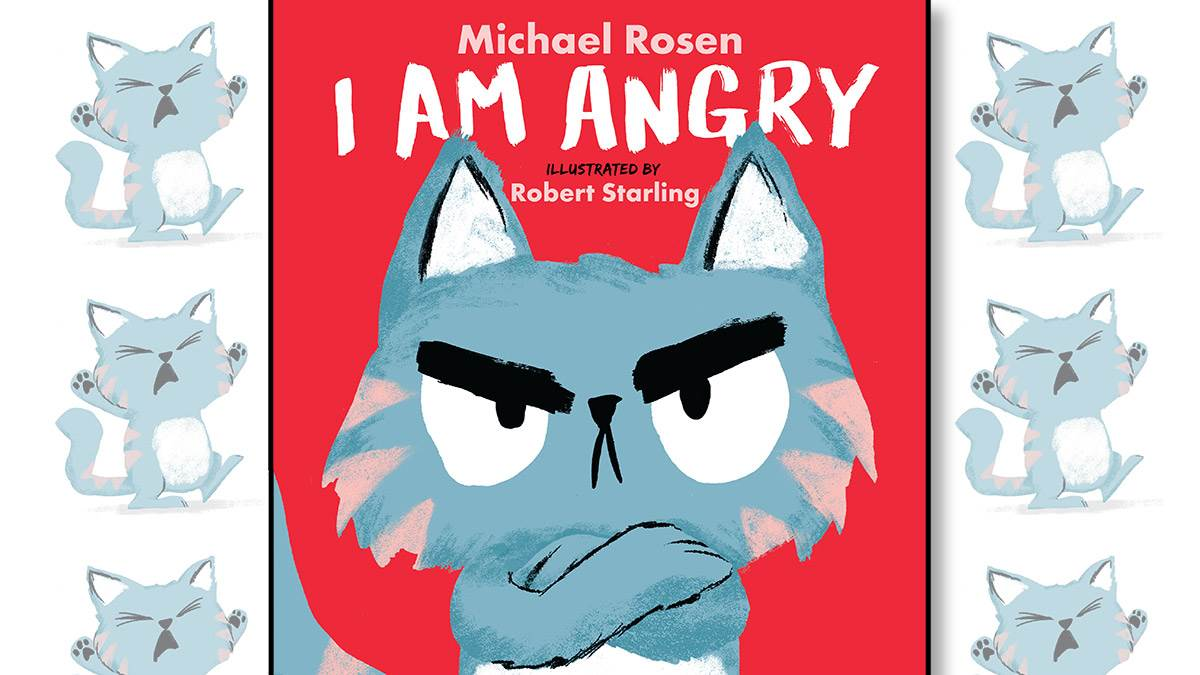 The front cover of I Am Angry