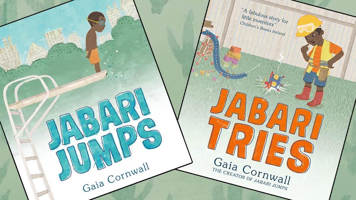 The front covers of Jabari Jumps and Jabari Tries