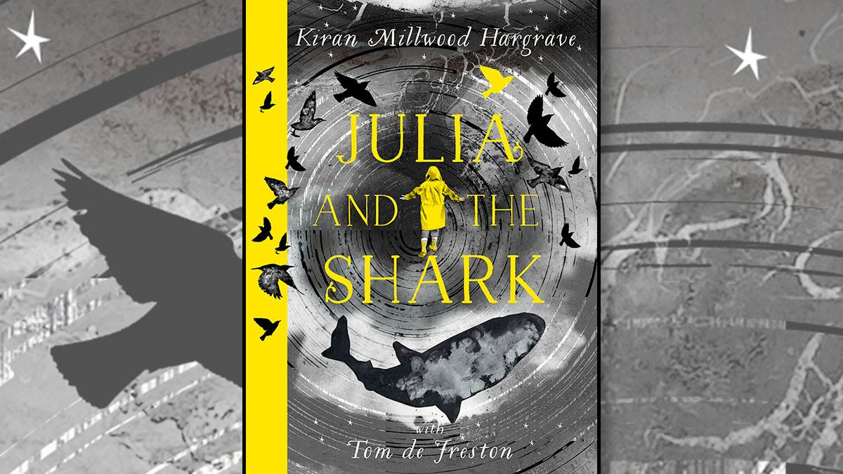 The front cover of Julia and the Shark