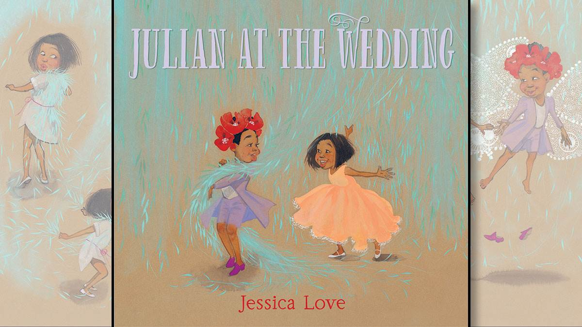 The front cover of Julian at the Wedding