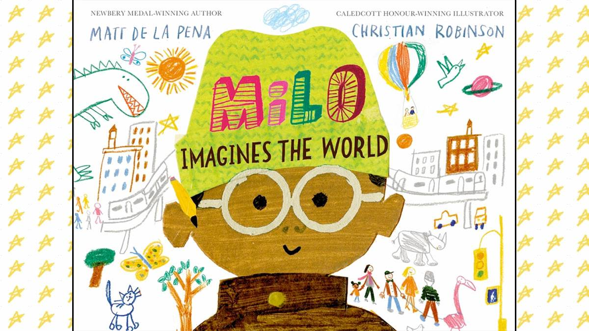 The front cover of Milo Imagines the World