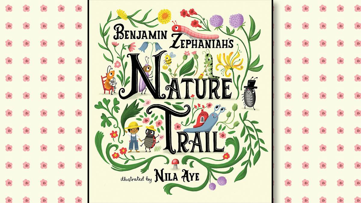 The front cover of Benjamin Zephaniah's Nature Trail