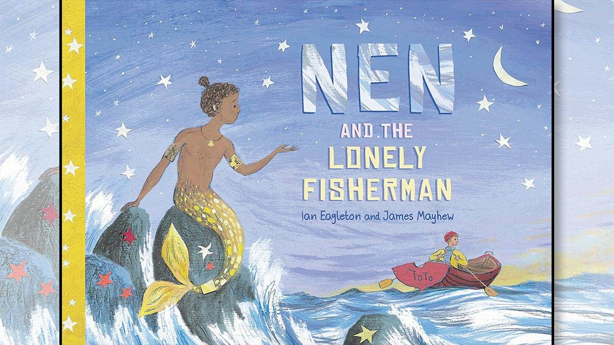 The front cover of Nen and the Lonely Fisherman