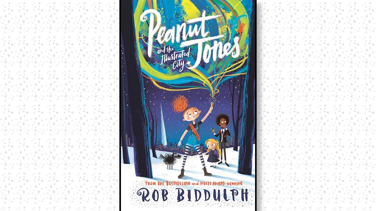 The front cover of Peanut Jones and the Illustrated City