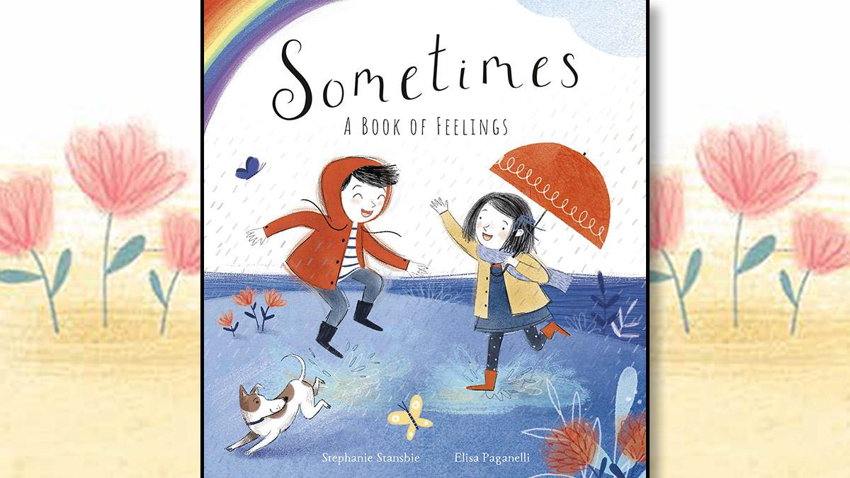 The front cover of Sometimes: A Book of Feelings