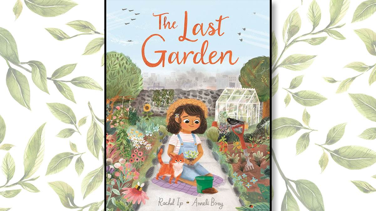 The front cover of The Last Garden