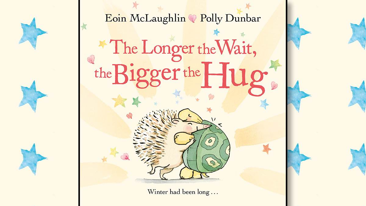 The front cover of The Longer the Wait, The Bigger the Hug
