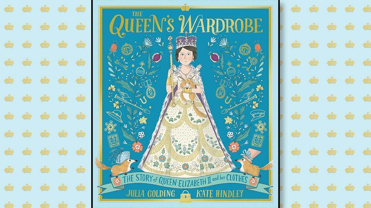 The front cover of The Queen's Wardrobe