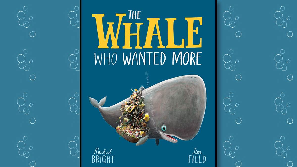 The front cover of The Whale Who Wanted More
