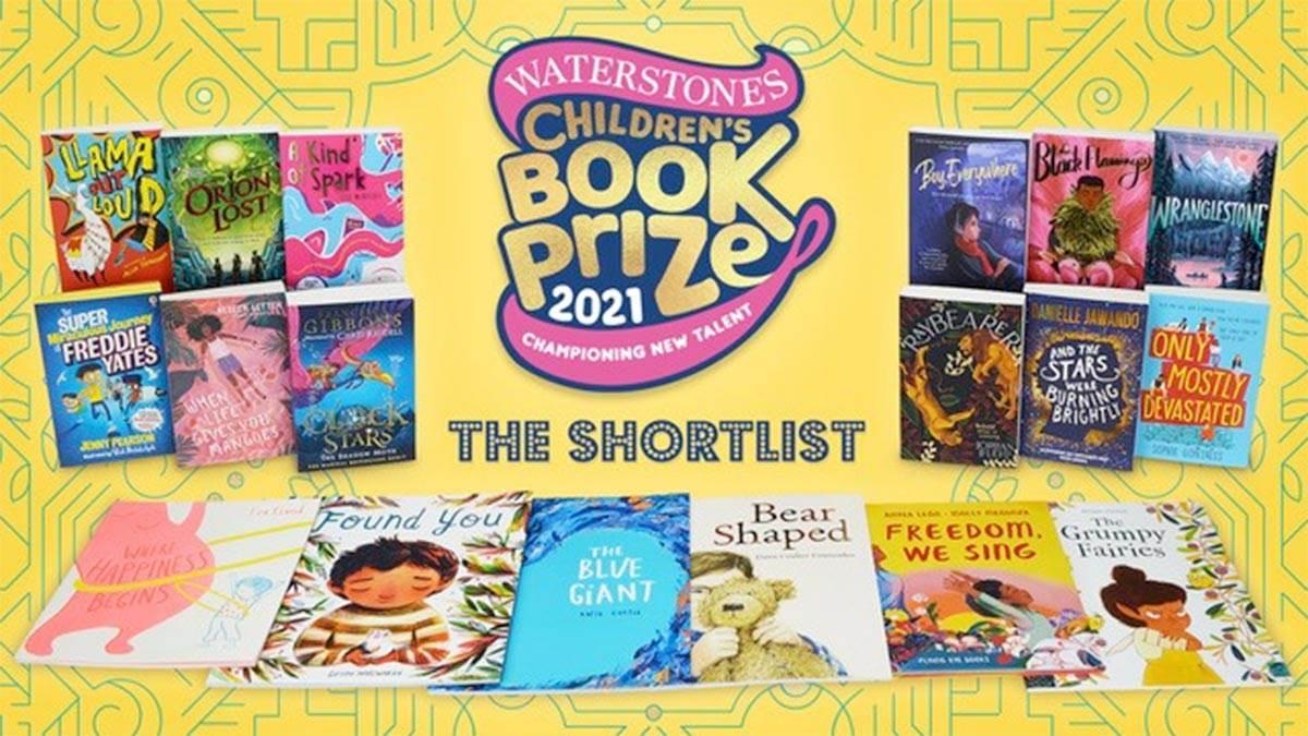 The Waterstones Children's Book Prize 2021 shortlists