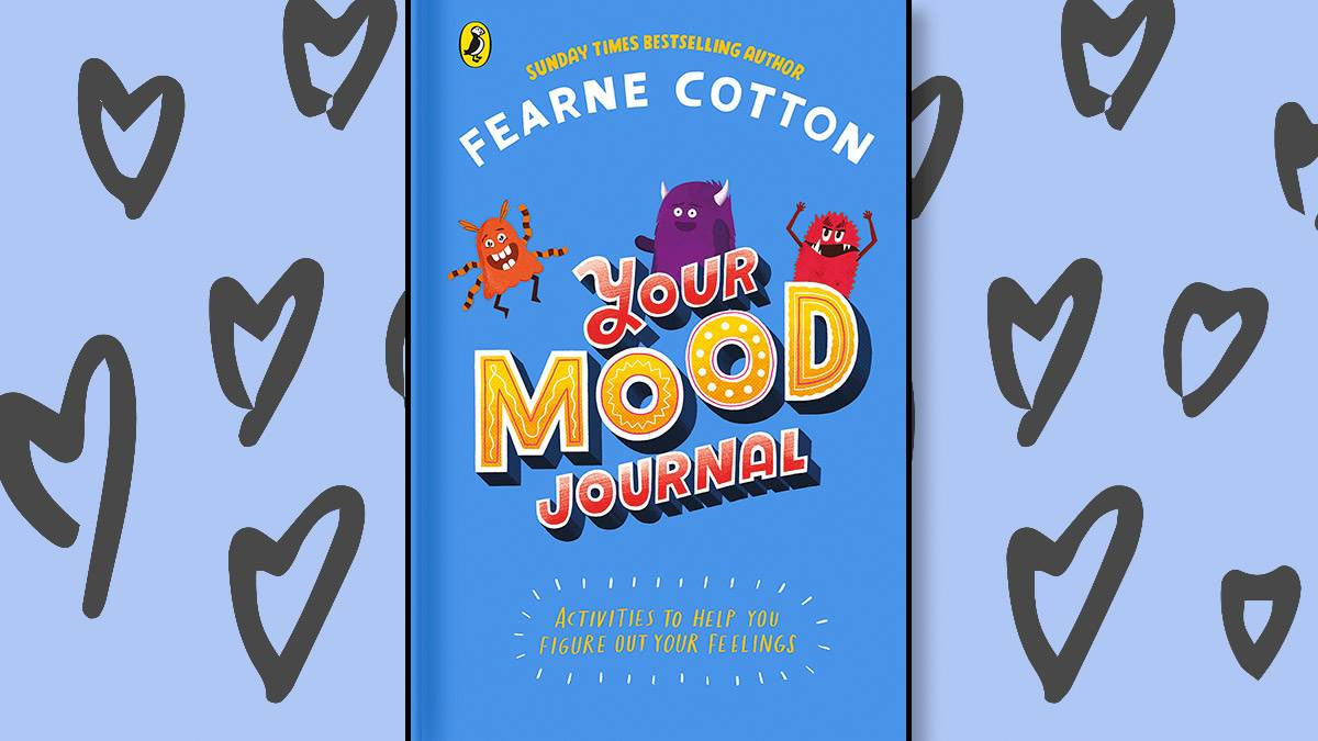 The front cover of Your Mood Journal