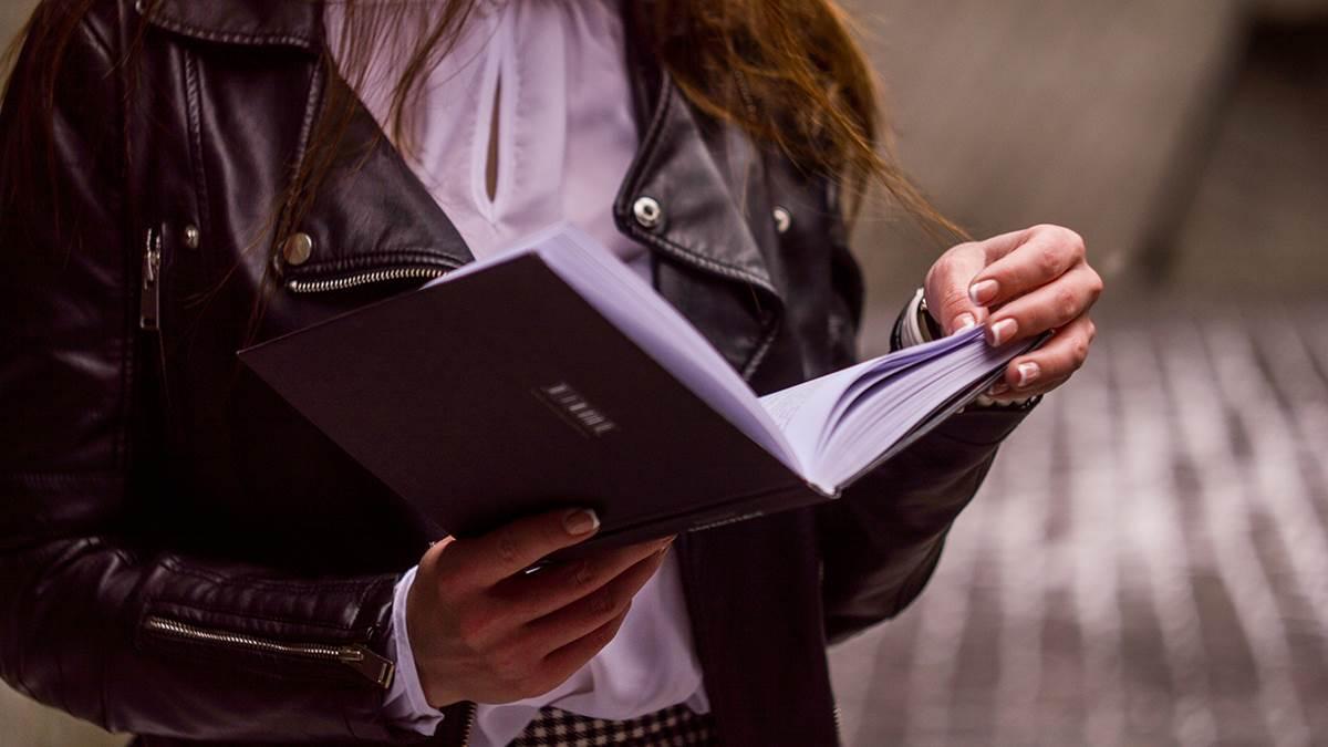 Girl reading