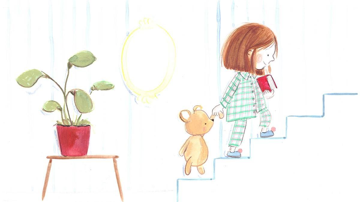 Fiona Lumbers' bedtime illustration