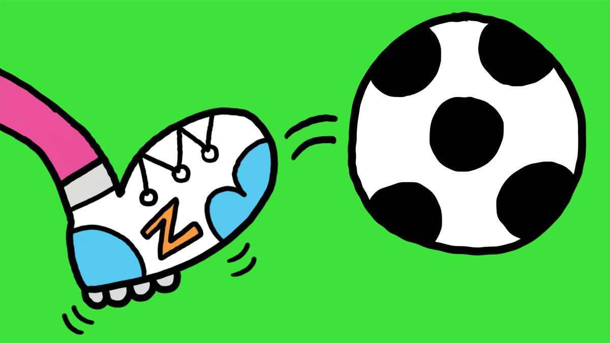 Jim Smith's sport illustration