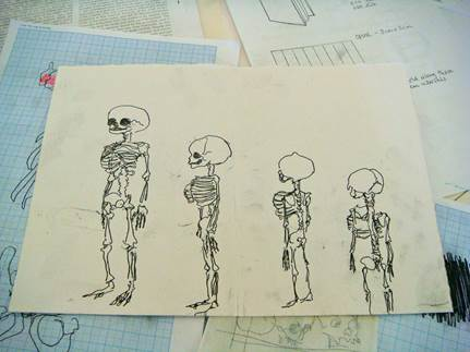 Clare's Skeletons