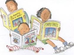 From the cover of The Great Big Book of Families by Mary Hoffman, illustrated by Ros Asquith