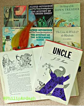 Childhood books, games and memories, and a slightly pompous elephant