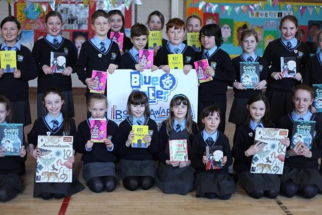 Northern Irish pupils judge the Blue Peter Book Award