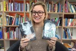 BookTrust's Katie Webber with some of her favourite current children's books