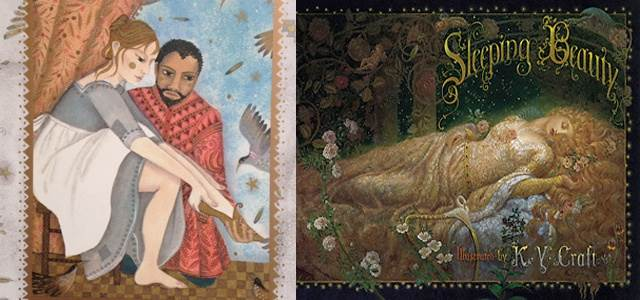 Illustrations (L-R) - Jane Ray and KY Craft