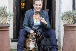 Julian Clary and his dogs