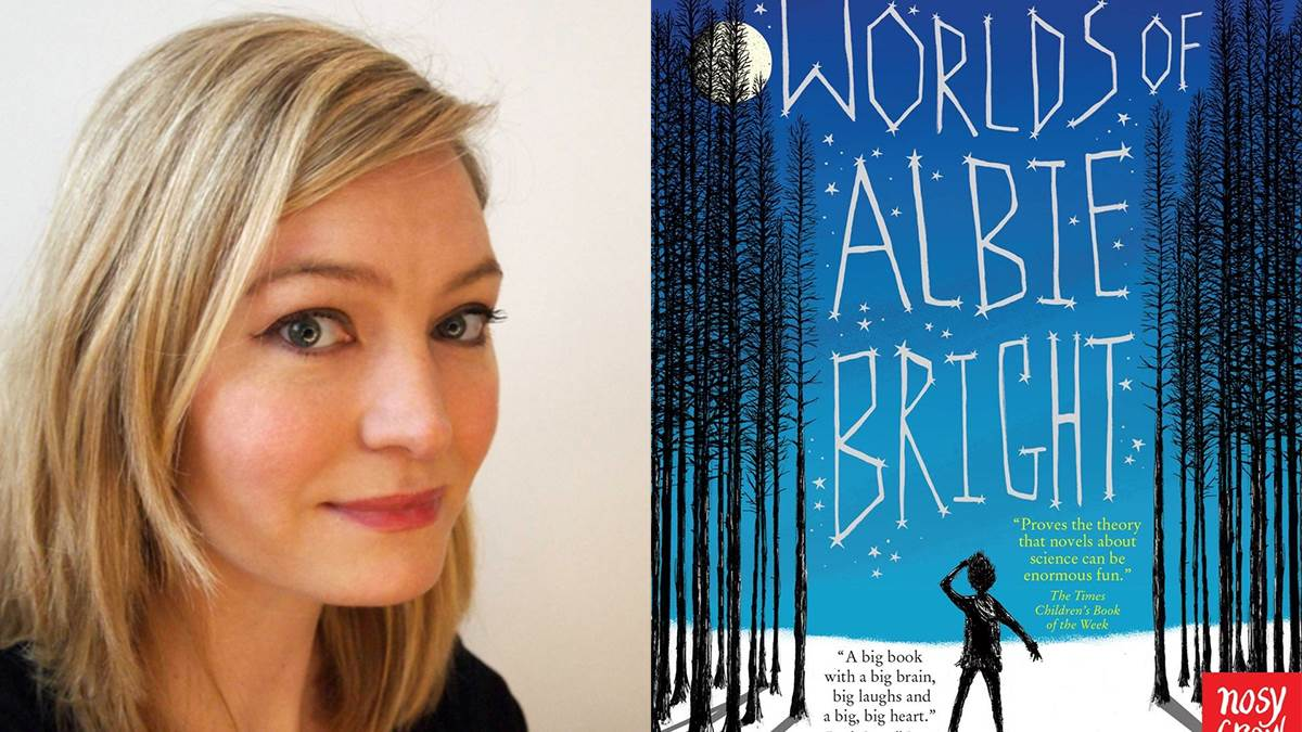 Holly Smale recommends The Many Worlds of Albie Bright