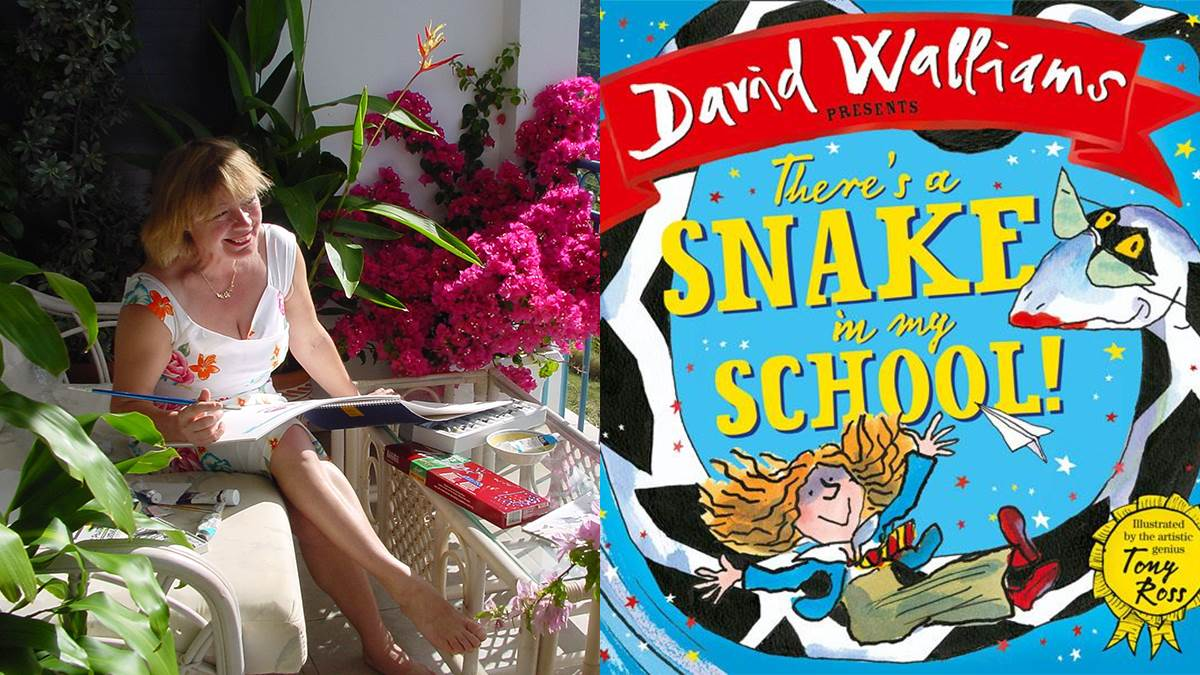 Babette Cole recommends There's A Snake In My School
