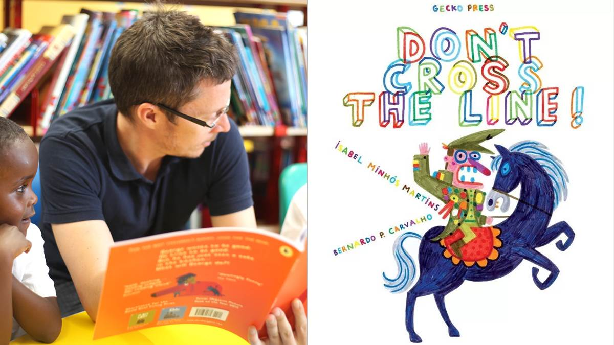 Chris Haughton recommends Don't Cross The Line