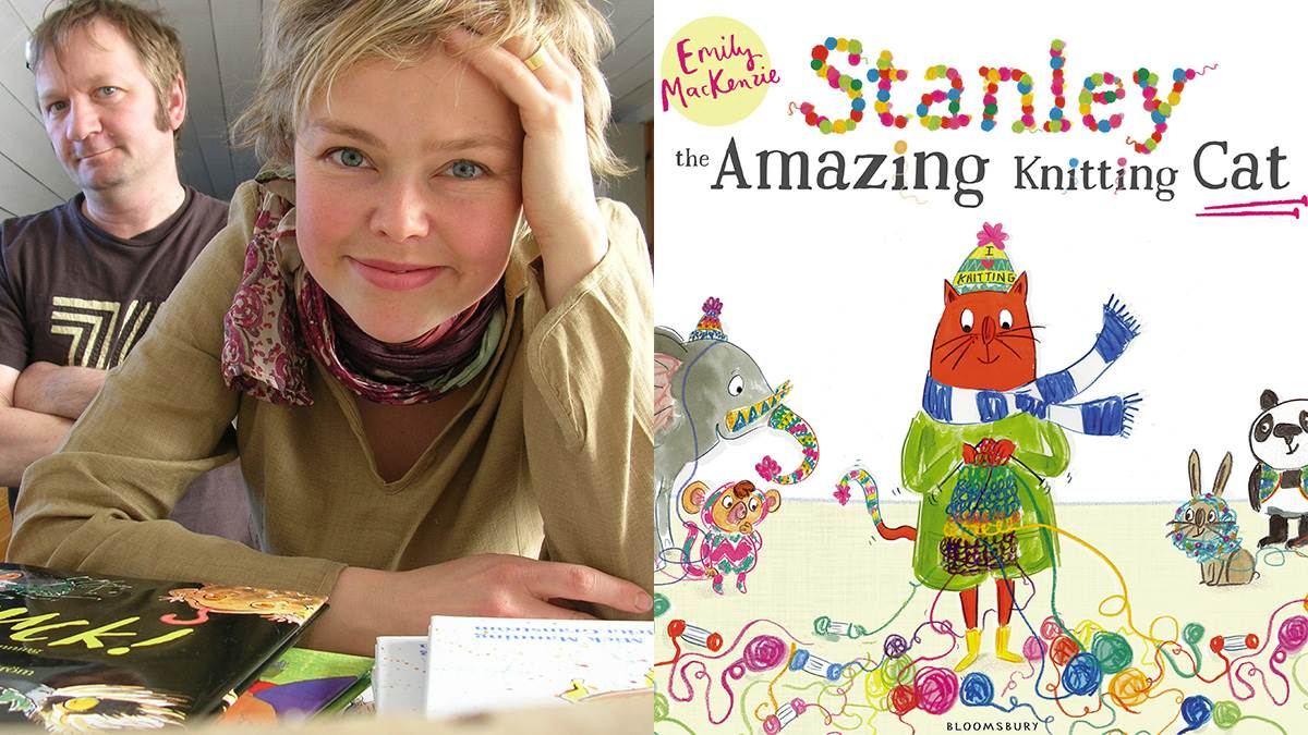 MIck Manning and Brita Granström recommend Stanley The Amazing Knitting Cat