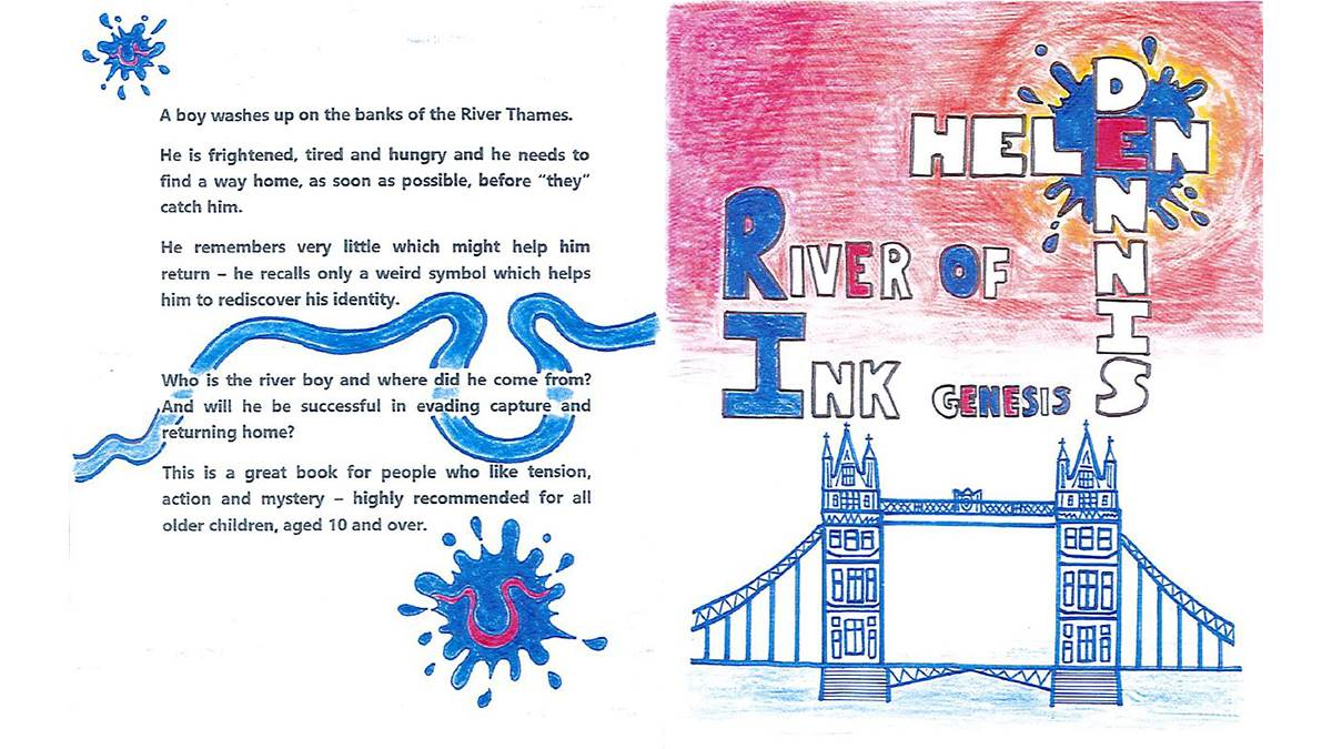 Jacob's runner-up entry into the Design a Book Cover competition