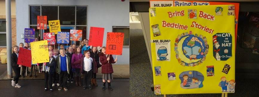 Bring Back Bedtime Stories campaign