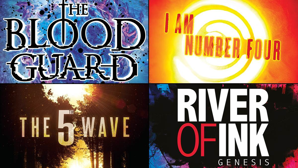 The Blood Guard, I Am Number Four, The 5th Wave, River of Ink