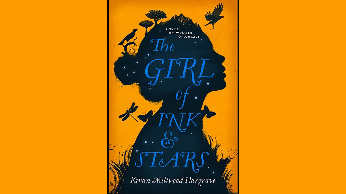 The cover of The Girl of Ink and Stars