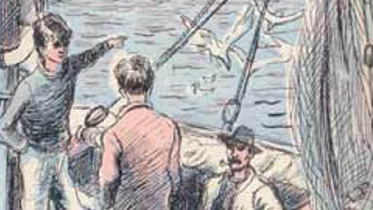 An image from the cover of The Lost Island