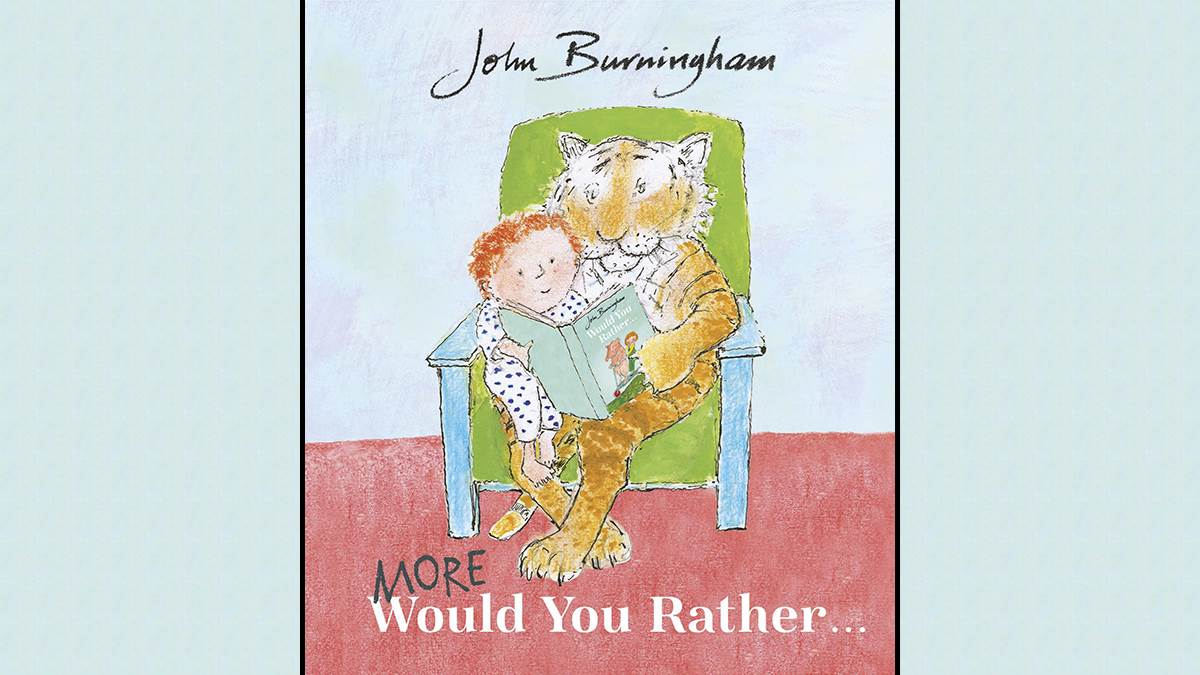 An image of the cover of More Would You Rather by John Burningham