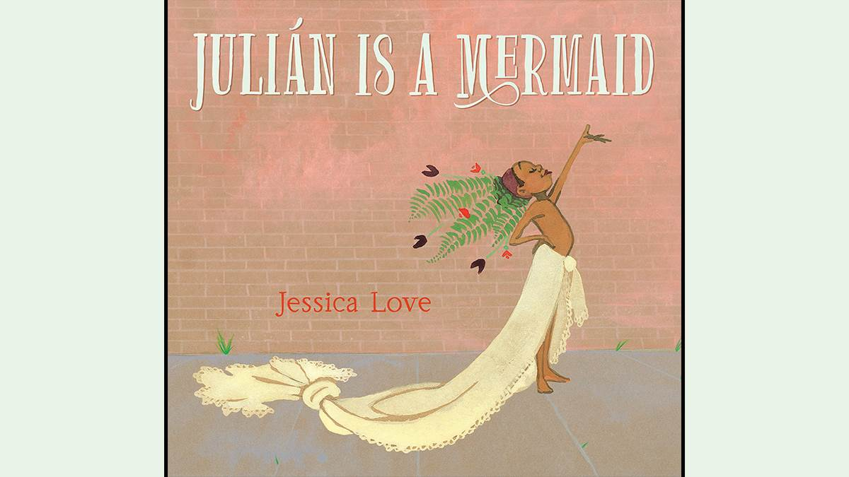 An image of the cover of Julián is a Mermaid