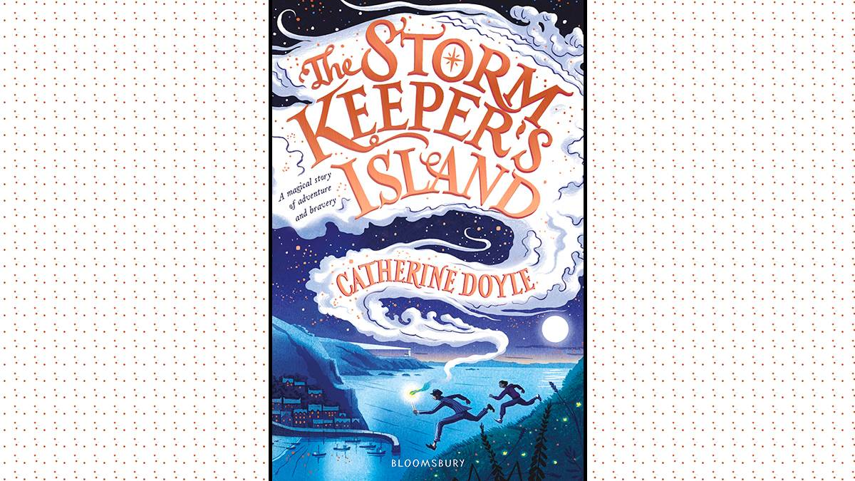 An image of the cover of The Storm-Keeper's Island